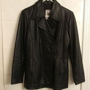 Jones Of NY Women's Leather Jacket Size M
